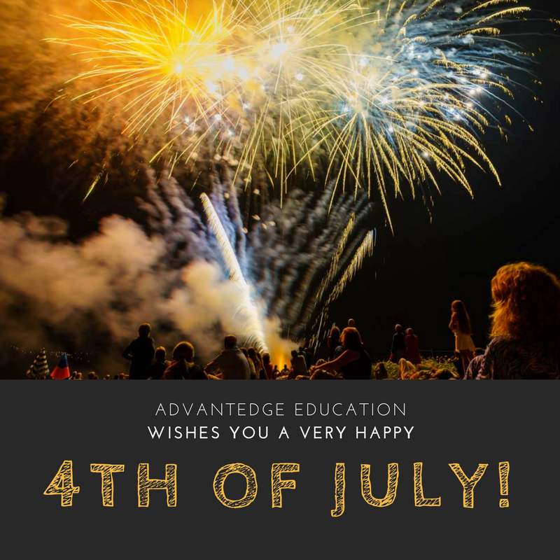Happy 4th of July from Advantedge Education