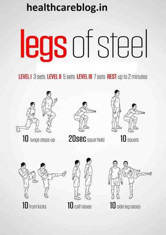 New Year Workout Plan 2020 - Legs Workout