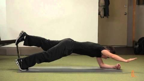 One leg one arm plank - Plank Types
