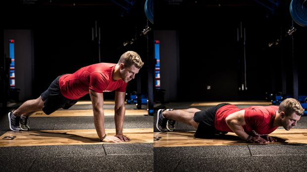 Triceps Workout at Home Without Equipment - Diamond Push Ups