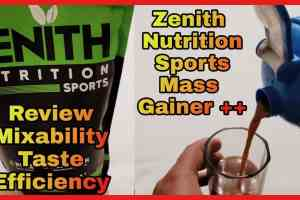 Zenith Nutrition Mass Gainer - Honest Review