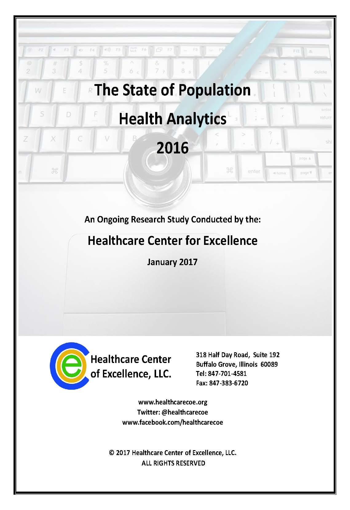 State of Population Health Analytics