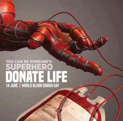 The importance of blood donation to humanity