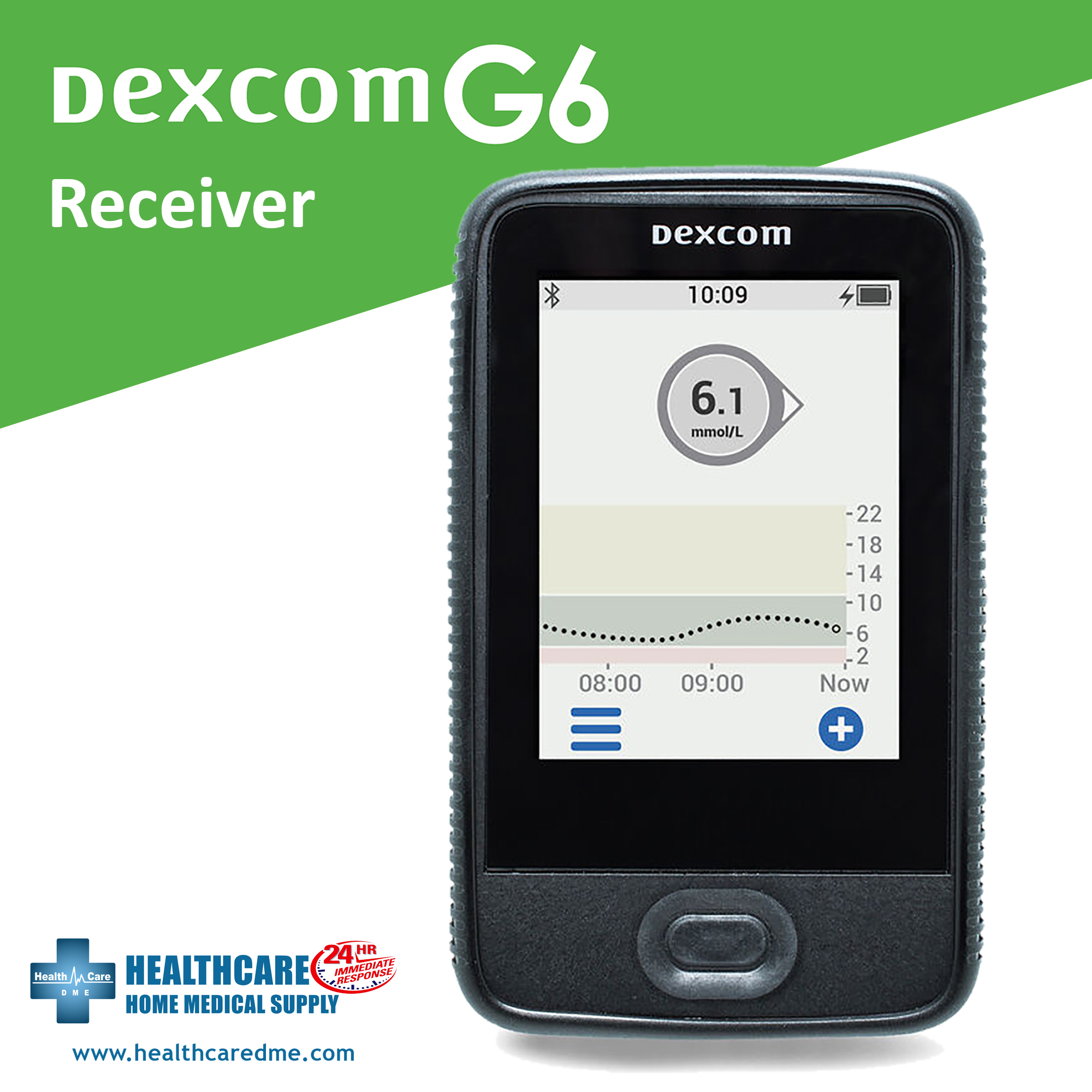 DexCom G6 Receiver   Michigan USA Dexcom Continuous Glucose Monitoring System