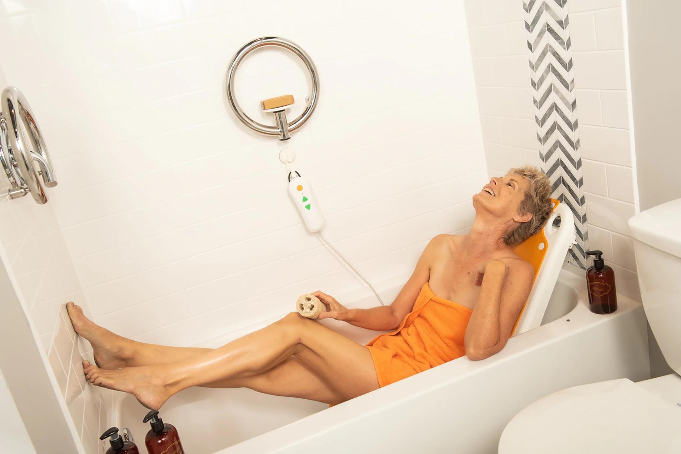 Bath Lyft For The Bath | Michigan USA The Bath Lyft For The Bath may be your solution getting into the Bath tub.
