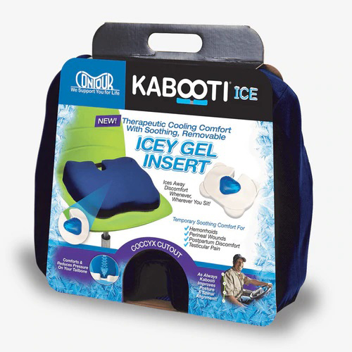 KABOOTI ICE HEMORRHOID RELIEF CUSHION | Michigan USA