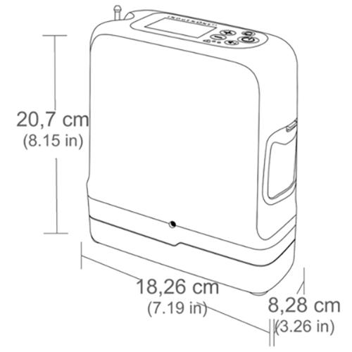 Inogen One G5 Portable Oxygen Concentrator | Michigan USA