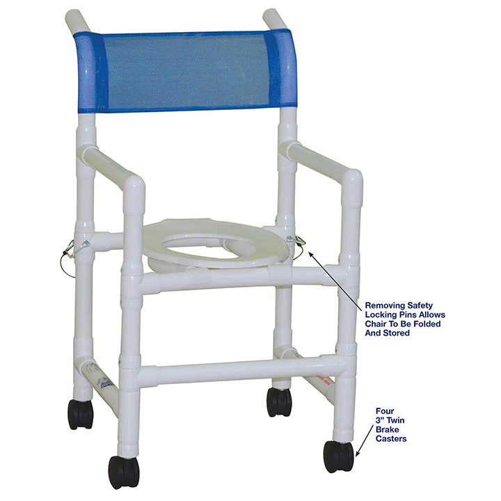 MJM FOLDING SHOWER CHAIR ALLOWS FOR NO MORE CROWDED SHOWER ROOMS in Michigan USA