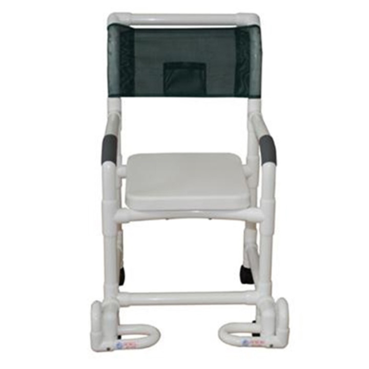 MJM Soft Seat Shower Chair with Individual Footrest in Michigan USA