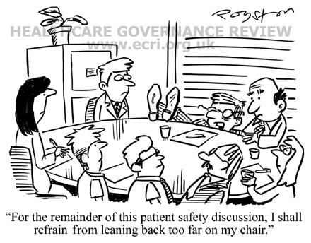 Guidance on board leadership for patient safety