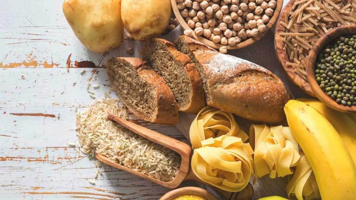 Image showing a group of carbohydrates for brain health.