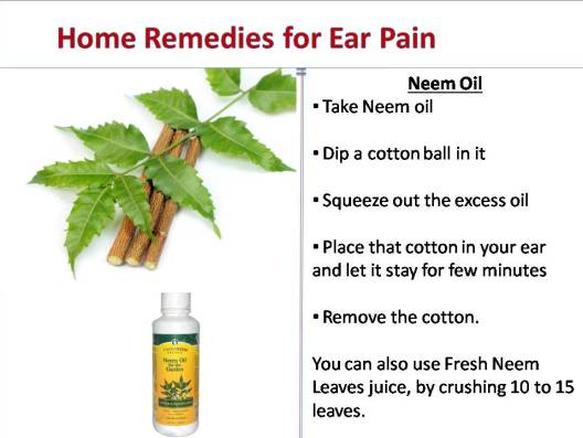 earache home remedies