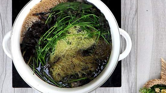 How To Make Seaweed Ginseng Water Not Tainted