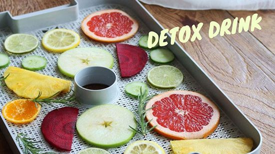 Lose weight safely from how to make Detox dried fruit