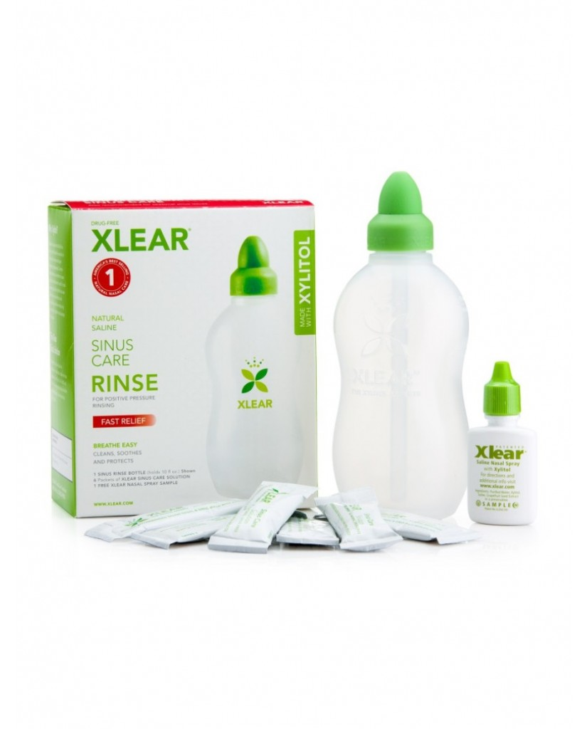 Xlear Sinus Rinse with Xylitol and Saline