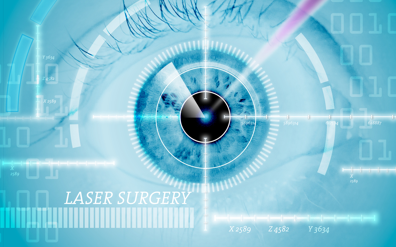 hight resolution of laser treatment of eye conditions