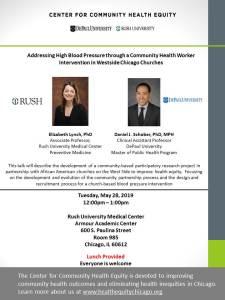 Addressing High Blood Pressure through a Community Health Worker Intervention in Westside Chicago Churches