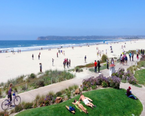 Coronado Central Beach Coronado California