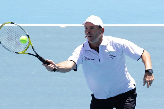 Apia International Sydney Lleyton Hewitt Charity Day