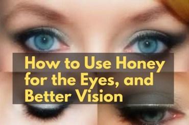 honey for eyes