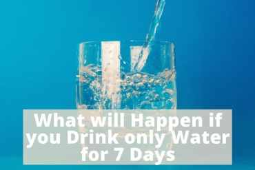 drink only water 7 days
