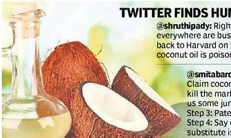 'Coconut oil is 'pure poison' and not healthy at all!'