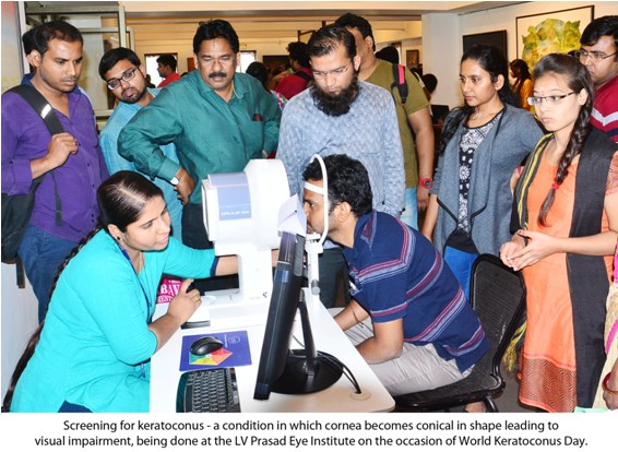 TejKohli Cornea Institute at L V Prasad Eye Institute raises awareness on Keratoconus on World Keratoconus Day