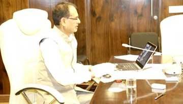 मुख्यमंत्री श्री चौहान ने पेंशनरों के खातों में ऑनलाइन ट्रांसफर किये 562 करोड़
