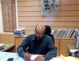 श्री राजेश श्रीवास्तव द्वारा वन बल प्रमुख का पदभार ग्रहण