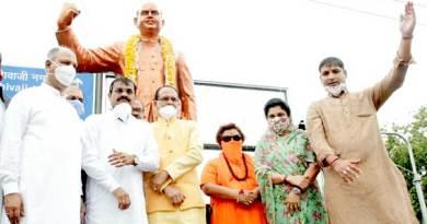 मुख्यमंत्री श्री चौहान ने पं. श्यामा प्रसाद मुखर्जी की प्रतिमा पर किया नमन