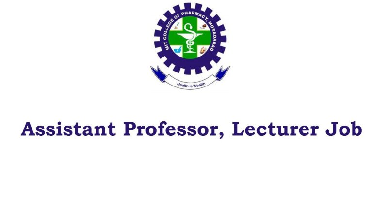 MIT College of Pharmacy Job for Assistant Professor Lecturer