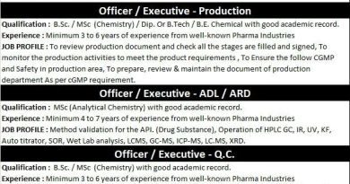 RAKS PHARMA PVT LTD Group of Amneal Urgent Openings for Production AR and D QC Departments Apply Now