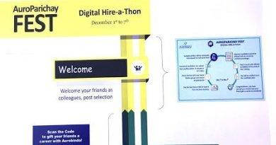 AUROBINDO PHARMA AUROPARICHAY FEST DIGITAL HIRE ATHON DEC 1st to 7th 2020