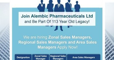 Alembic Pharmaceuticals Ltd Openings for ZSM RSM ASM Apply Now