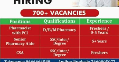 MedPlus Hiring Freshers and Experienced BPharm MPharm DPharm Candidates Apply Now
