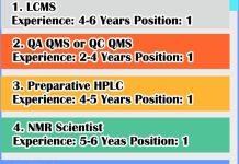 SimSon Labs Limited Urgently Openings for LCMS QA QMS Preparative HPLC NMR Scientist HPLC Apply Now
