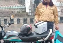 मृत पक्षियों का सेम्पल भोपाल लैब पहुँचाने पिता-पुत्र ने 350 किमी किया बाईक से सफर