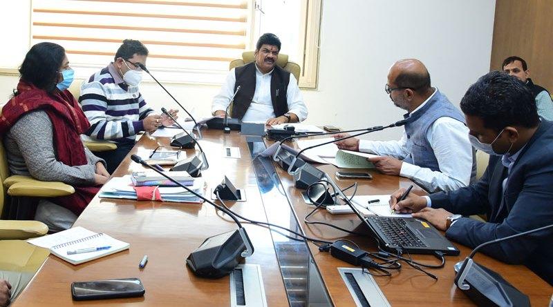 विनोद मिल के श्रमिकों को 97 करोड़ का किया जाएगा भुगतान-राजस्व मंत्री श्री राजपूत