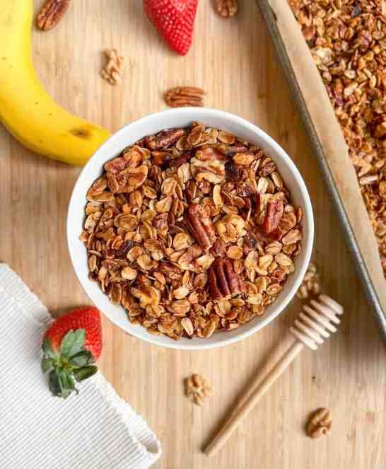 best ever nutty homemade granola
