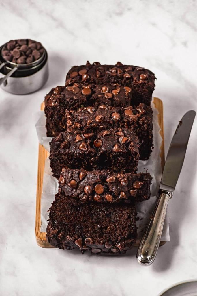 oat flour chocolate banana bread
