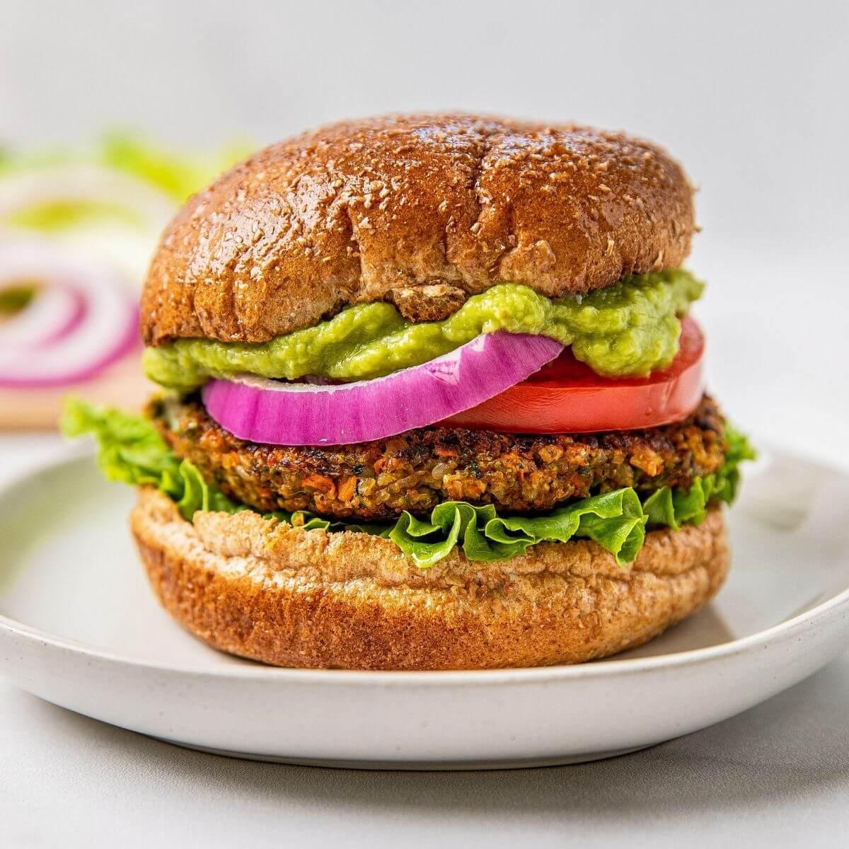 best no bean veggie burger recipe