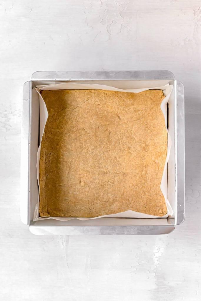blind baked sugar cookie crust