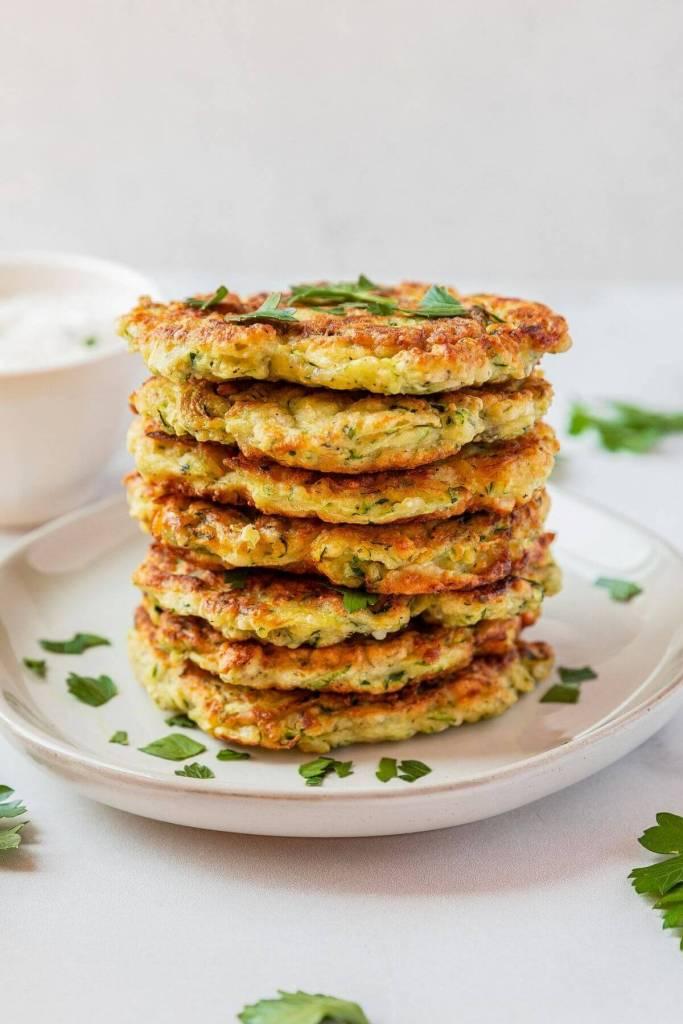 gluten free zucchini fritter recipe