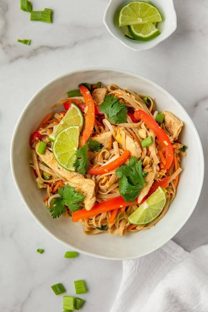 gluten free chicken pad thai