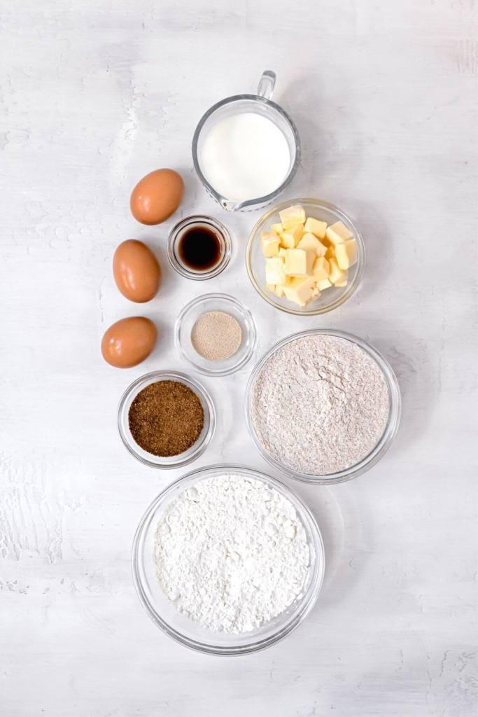 ingredients in healthy cinnamon rolls