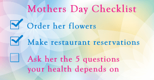 Mother's Day Checklist