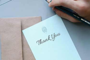 write thank you notes