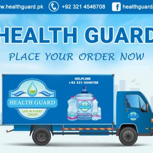 health guard place order Delivery truck