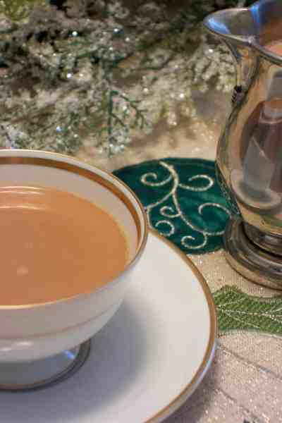 Homemade Peppermint Mocha Creamer