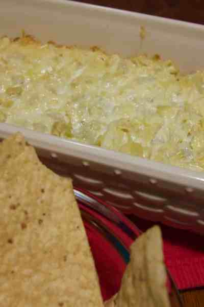 An amazingly delicious, and easy to make, artichoke dip that's sure to be a hit wherever you go.